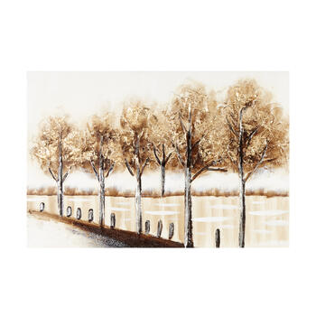 "24""x36"" Scenic Gold Tree Canvas Wall Art view 1"