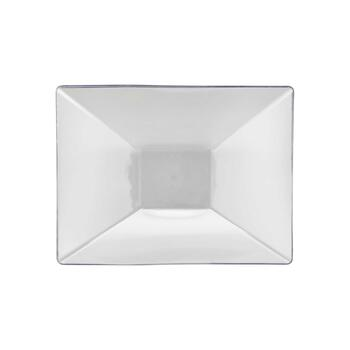 "PLAS TRAY CLR 12""X18"" 3CT view 1"