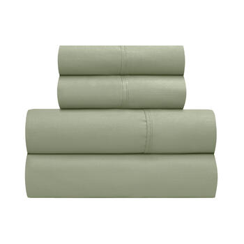 Wamsutta® King 400-Thread Count Solid Cotton Sheet Set view 1