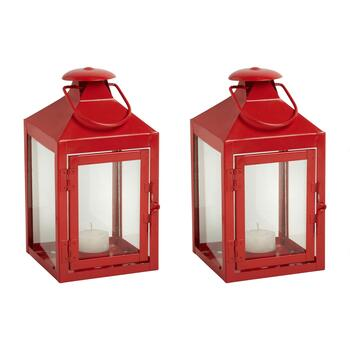 "8.75"" Metal Citronella Votive Lantern"
