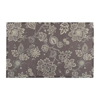 "Waverly® 4'4""x6'11"" Gray Floral Indoor/Outdoor Area Rug"
