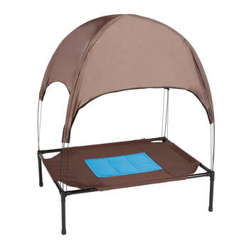 Cool Cot with Dome Pet Canopy view 1