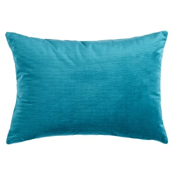 Solid Ripple Texture Oblong Throw Pillow