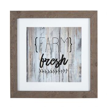 "15""x15"" ""Farm Fresh"" Wall Decor"
