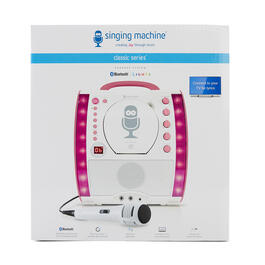 Bluetooth® Karaoke Machine with Light Show view 1
