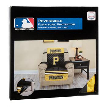 MLB Pittsburgh Pirates Reversible Recliner Cover