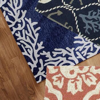 Coastal Accent Rugs and Multipurpose Mats