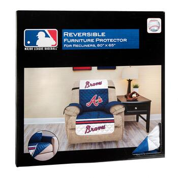 MLB Atlanta Braves Reversible Recliner Cover