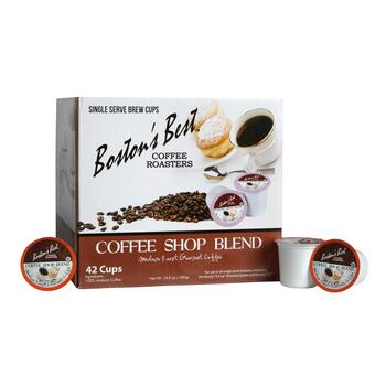 Boston's Best™ Coffee Shop Blend Coffee Pods, 42-Count