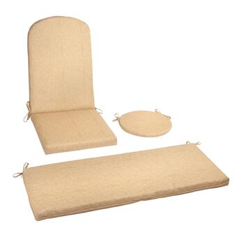 Beige Indoor/Outdoor Seat Cushions Collection