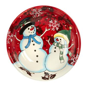 Festive Friends Large Serving Bowl