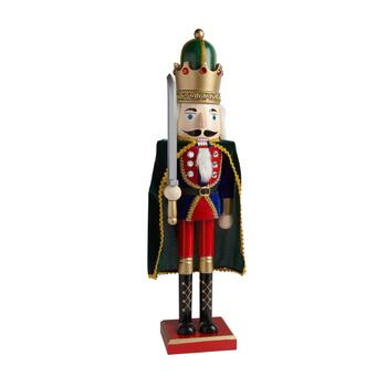 "26"" Cape and Sword Nutcracker"