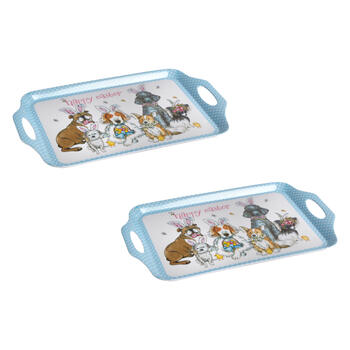 2ct Est Dogs Tray view 1