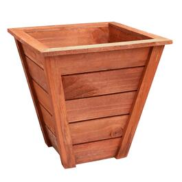 Handcrafted Cedar Stain Wood Planter
