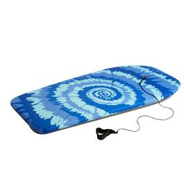 "41"" Teal Spiral Graphic Body Board"