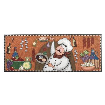 2' x 5' Cooking Chef Tapestry Floor Runner