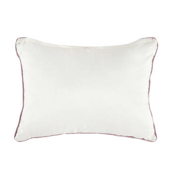 Watercolor Flower Oblong Throw Pillow view 2