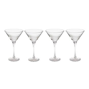 Arc Basic Martini Glasses, Set of 4