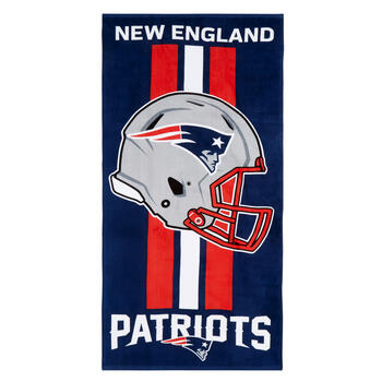 "30""x60"" NFL New England Patriots Cotton Beach Towel view 1"