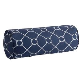 Nautical Knots Indoor/Outdoor Lumbar Roll Pillow
