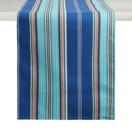 Waverly® Blue Stripe Table Runner view 1