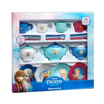 Disney Frozen Toy Dinnerware Set, 26-Pieces