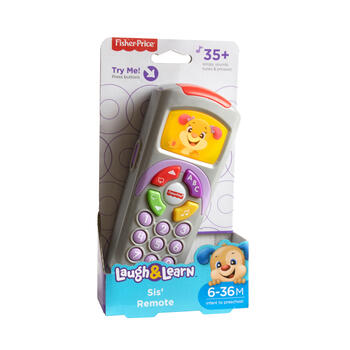Fisher Price® Laugh & Learn™ Sis' Remote view 1