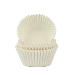 White Cupcake Liners, 50-Count view 1
