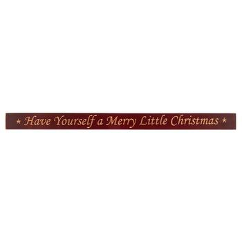 "48"" ""Have Yourself a Merry Little Christmas"" Wood Wall Sign"