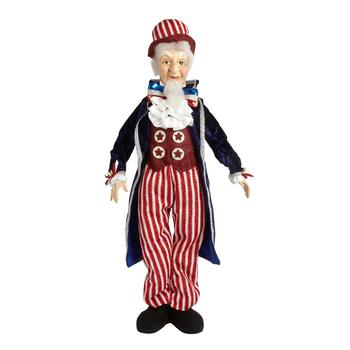 "31"" Standing Uncle Sam Decor"