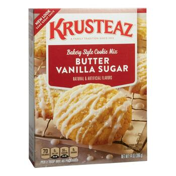 Krusteaz® Butter Vanilla Sugar Cookie Mix, 12 Boxes