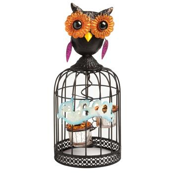 Owl Halloween Tealight Lantern