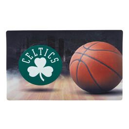 NBA Boston Celtics High-Definition Rubber Door Mat view 1