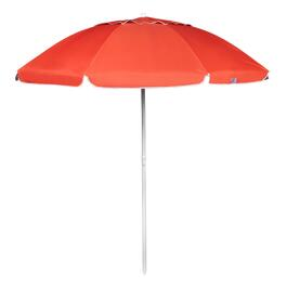 7' Orange Tilt Beach Umbrella