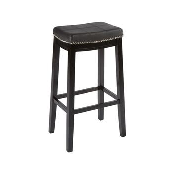 Claridge Upholstered Barstool with Nailheads