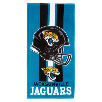 "30""x60"" NFL Jacksonville Jaguars Cotton Beach Towel view 1"