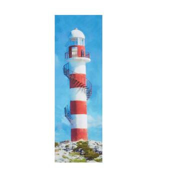 "12""x36"" Lighthouse Indoor/Outdoor Canvas Wall Art"