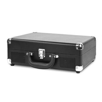 Black Suitcase Bluetooth® Turntable view 2