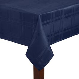 Solid Oval Microfiber Tablecloth