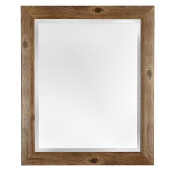 "16""x20"" Mary Brown/Black Frame Wall Mirror"