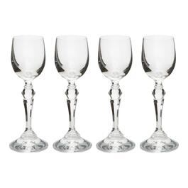 1.5-oz. European Footed Cordial Glasses, Set of 4