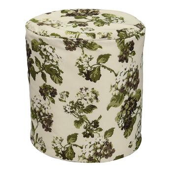 Waverly® Floral Indoor/Outdoor Square Ottoman