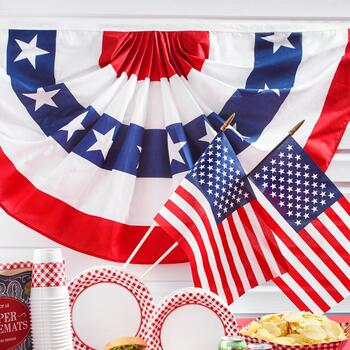 6'x3' Bunting & Flags