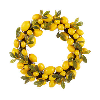 "The Grainhouse™ 22"" Lemon Wreath view 1"