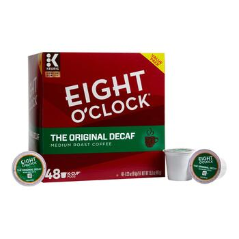 Keurig® Eight O'Clock® The Original Decaf Coffee Pods, 48-Count