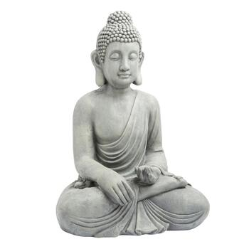 "20"" Sitting Buddha Garden Decor Statue"
