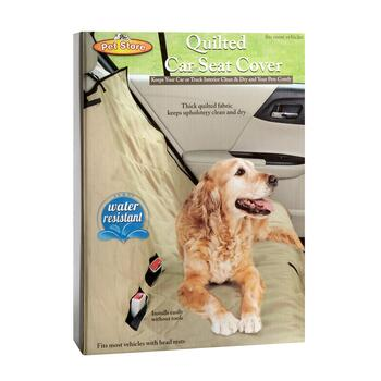 Quilted Pet Car Seat Cover