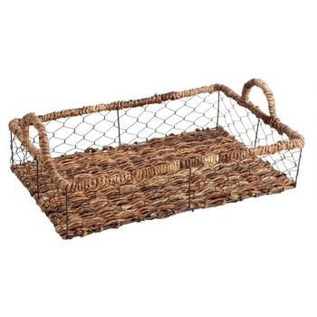The Grainhouse™ Bacbac Woven Wire Rectangular Tray