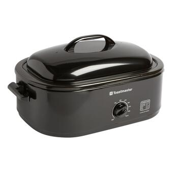 18-Qt. Black Toastmaster Electric Roaster with Lid
