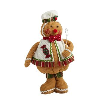 "16"" Standing Gingerbread Baker with Strainer"